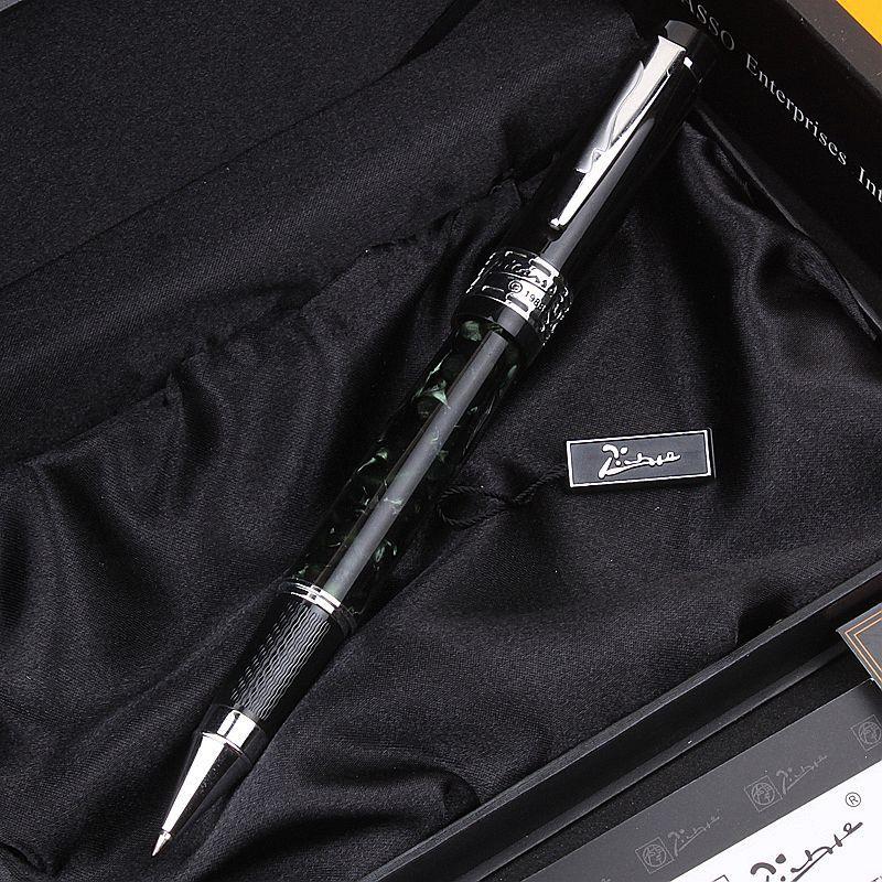 正品pimio毕加索笔PS-915 欧亚情怀幻黑宝珠笔签字笔 高档商务笔