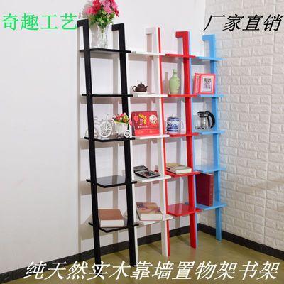 实木置物架组合书架展览架客厅卧室放置架装饰架落地靠墙架子包邮