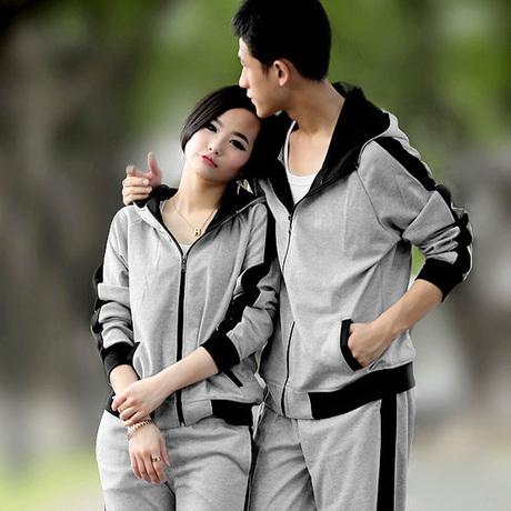 Толстовка женская 2013 осенью любители корейских женщин длинные рукава спортивной моды непринужденная спортивная одежда свитер хлопка мужчин и женщин