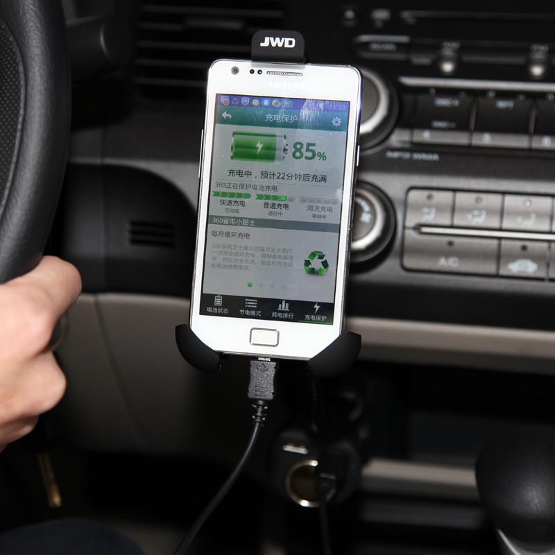 держатель для телефона в авто Jinghua  305 USB