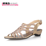 Love Bird Watchers 2013 summer fashion Korean version <span class=H> </span> Casual diamond slope with sandals lady shoes in the heel <span class=H> </span>