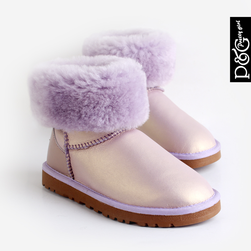 Genuine Australia Sheepskin 5825 candy-colored waterproof snow boots warm winter boots women's boots