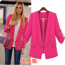 Women's long sleeve suit small suit jacket women