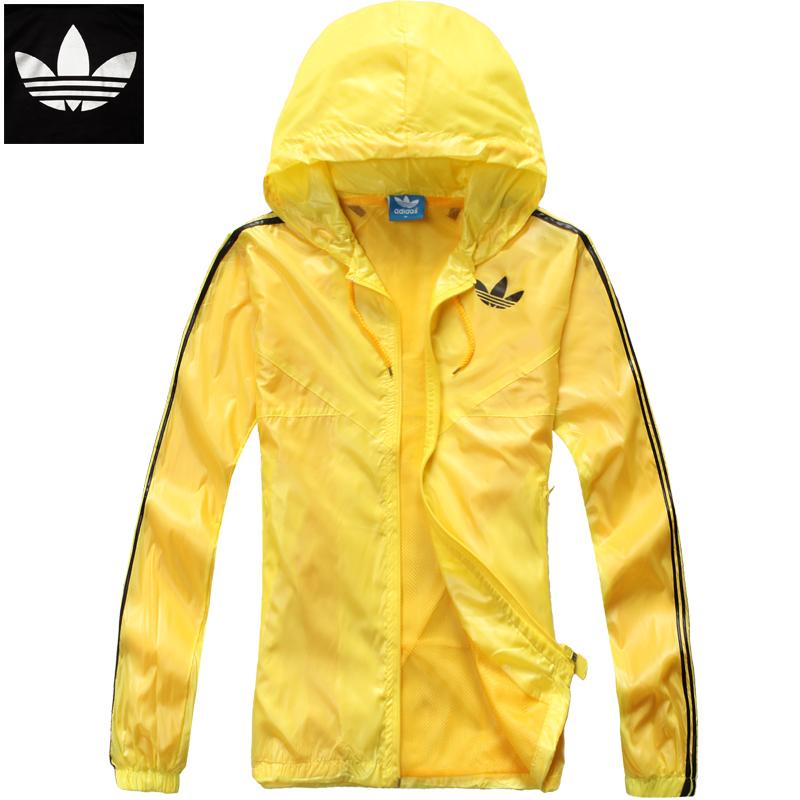 Спортивная ветровка Adidas F888 Для мужчин Молния Полиэстер Для спорта и отдыха Защита от ультрафиолетового излучения, Быстросохнущие, Против ветра, Водонепроницаемая