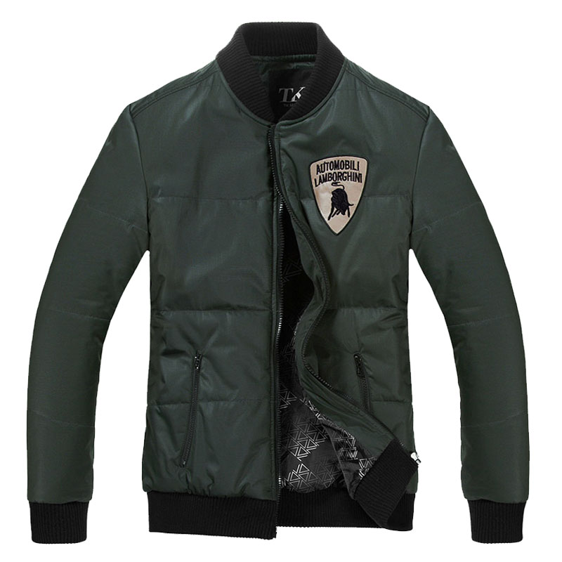 Fall/winter-season clearance sale Lamborghini coat men's casual cotton clothing men s wave of slim wool coat men