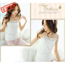 2013 Women's new summer Korean yards bottoming Camisole loose knit cotton small vest female summer