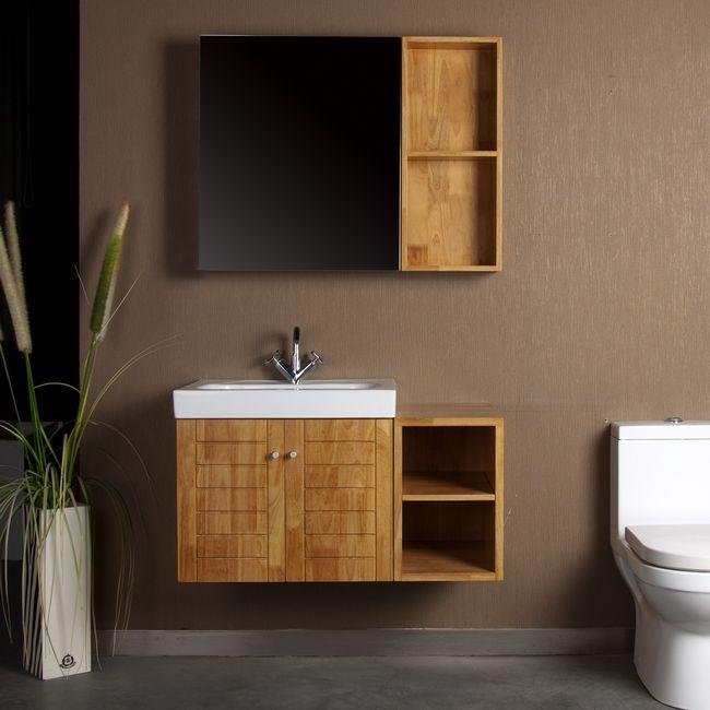 乐瑞实木浴室柜FBF1001