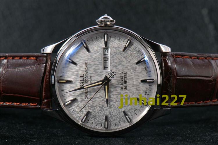 Часы Ball watch NM2080D-LJ-SL Механические с автоподзаводом Мужские Швейцария