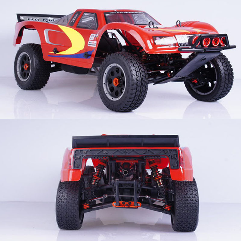 Deliver the complete set 1:5 260T import remote control petrol car fires GT3B remote upgrade accessories