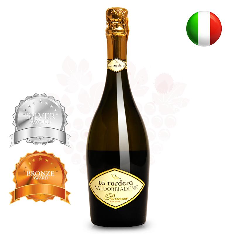 【OPUS红酒】意大利进口托德拉普洛塞克绝干起泡葡萄酒气泡酒包邮