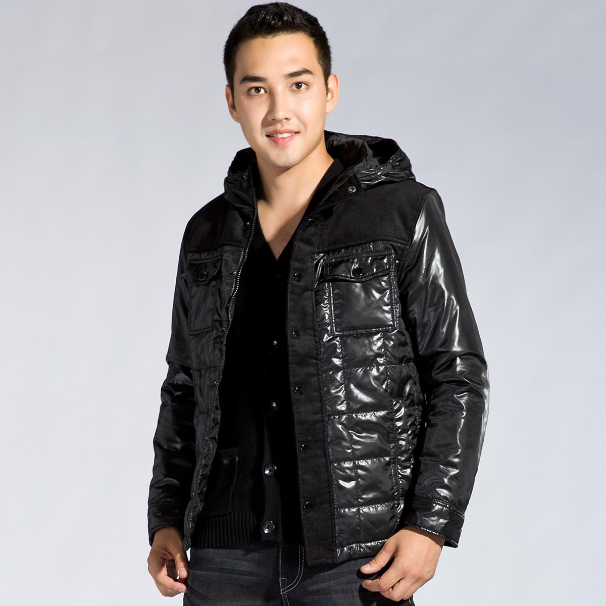 森马semir2013冬装新款男装棉衣; semir 森马 冬装新款男装棉衣图片