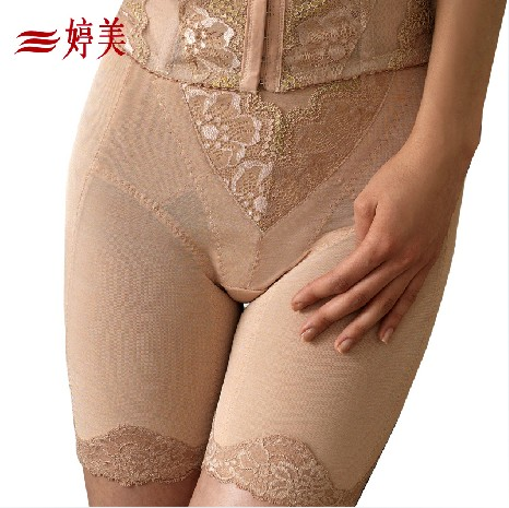Tingmei breathable corset hip pants high-end beauty abdomen fat burning waist stomach underwear genuine
