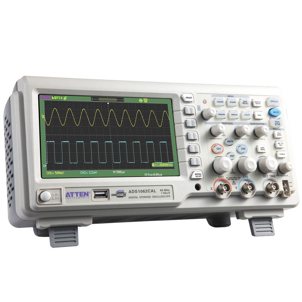 Осциллограф Taixin 60 МГц, 1g ads1062cal цифровой запоминающий осциллограф образца ставка 7-дюймовый широкоэкранный