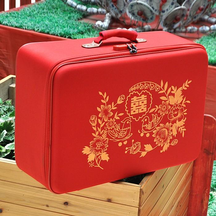 Дорожная сумка Большой красный коробки коробки свадьба брак брак браке чемоданы Камера чемодан коробки красный камера коробка