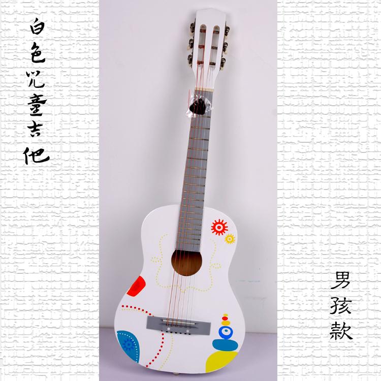 儿童仿真吉他 木质发声乐器系列 音质纯正 玩具吉他 两款任选