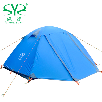 Shengyuan outdoor tent double double double double doors aluminum pole tent camping camping winter rain 2.5kg