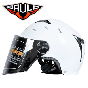 Authentic Paul Paulo autumn motorcycle helmet electric car helmet Summer Helmet UV half helmet men and women