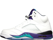 Air jordan retro 5 &quot;Grapes&rdquo;  AJ5 136027-108 