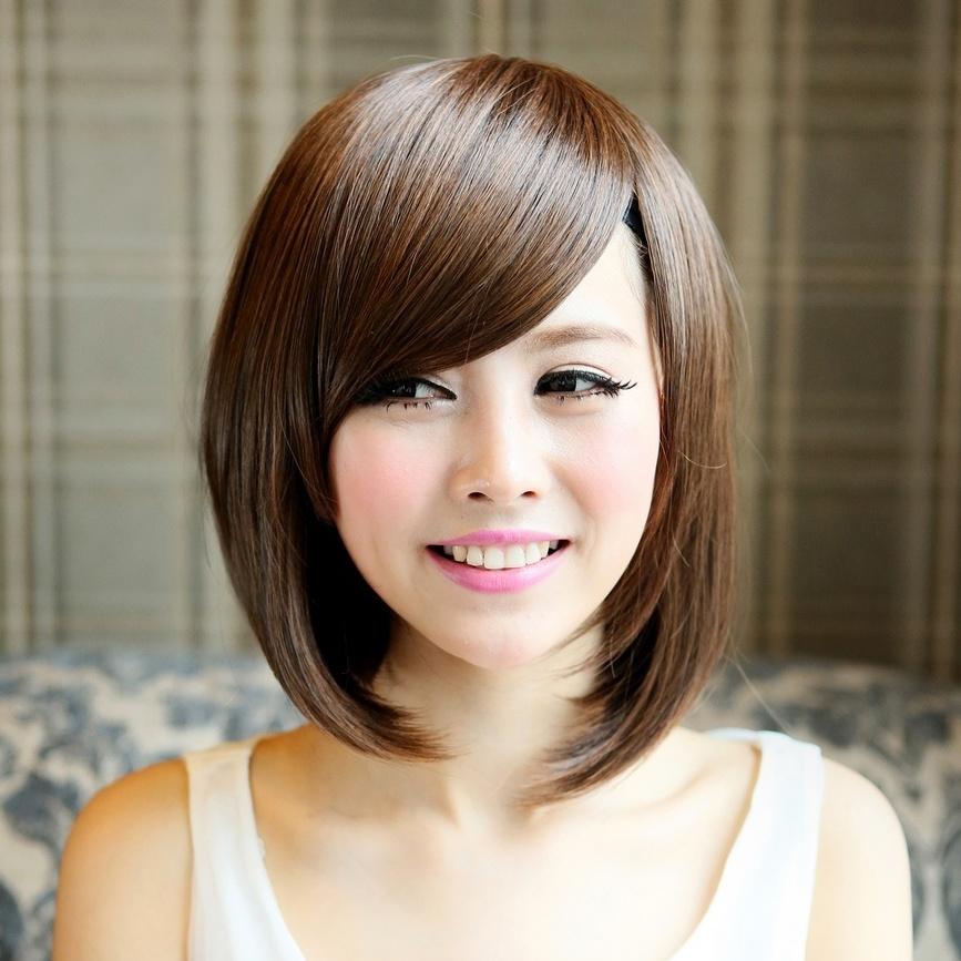 Cabellos Corto Color | Dark Brown Hairs