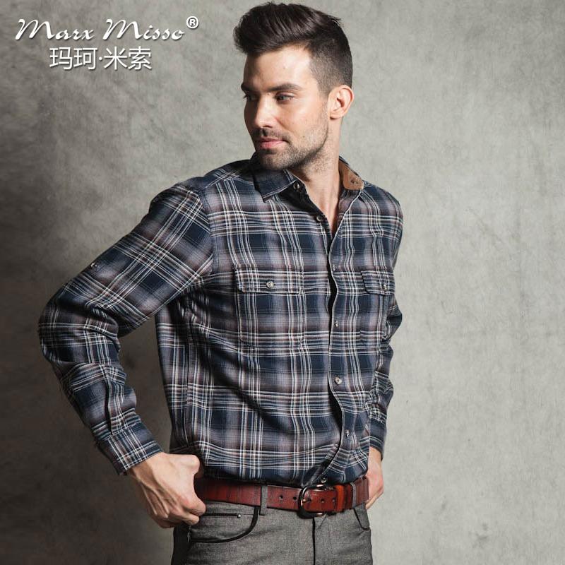 Рубашка мужская Marx Misso cxcs12226 2013 Осень 2013 С остроконечным лацканом Длинные рукава ( рукава > 57см )