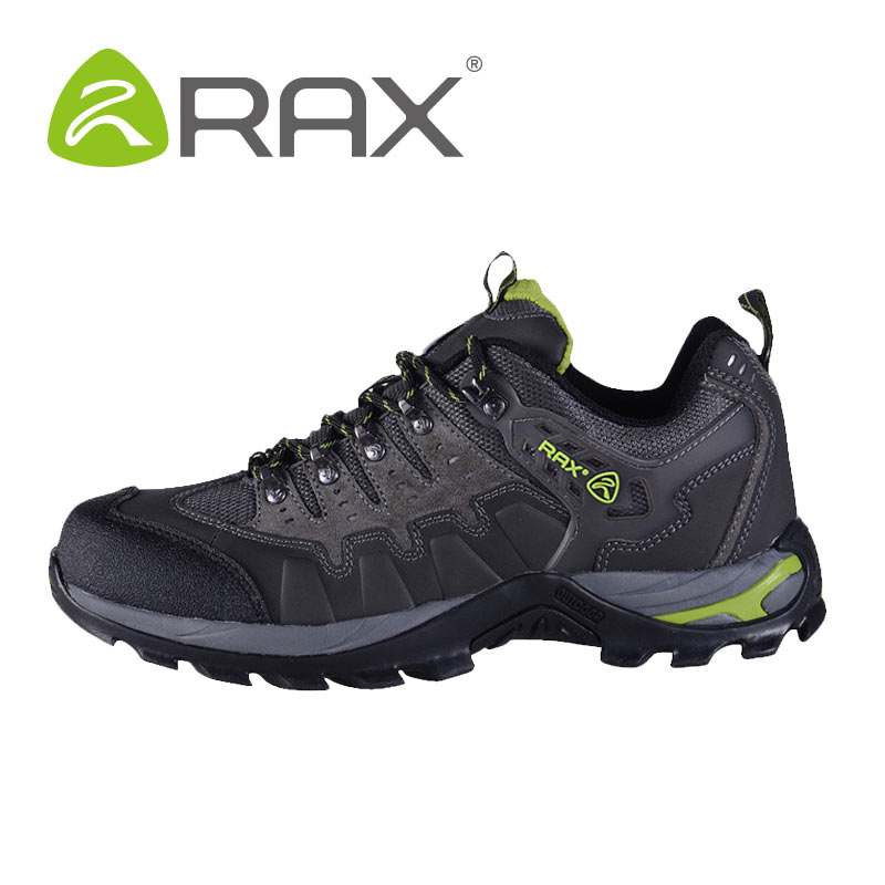 RAX outdoor shoe breathable hiking shoes men's shoes women's genuine shock walking shoes-splash-proof sliding sport sneakers
