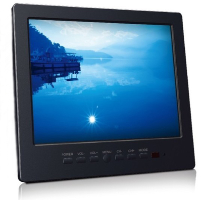 Figure CD L8008 LCD Monitor 8-inch computer monitor small LCD TV Car Monitor
