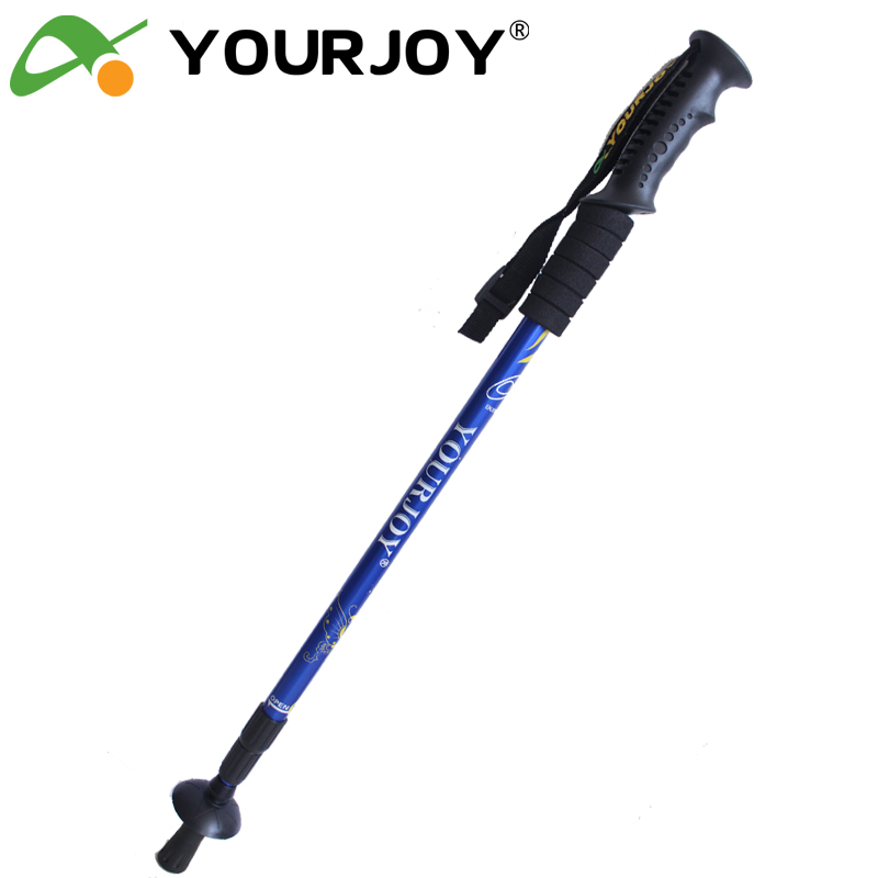 Exclusive discount # cheap cat # alpenstock ultralight telescopic trekking stick aluminum alloy three-straight shank trekking poles