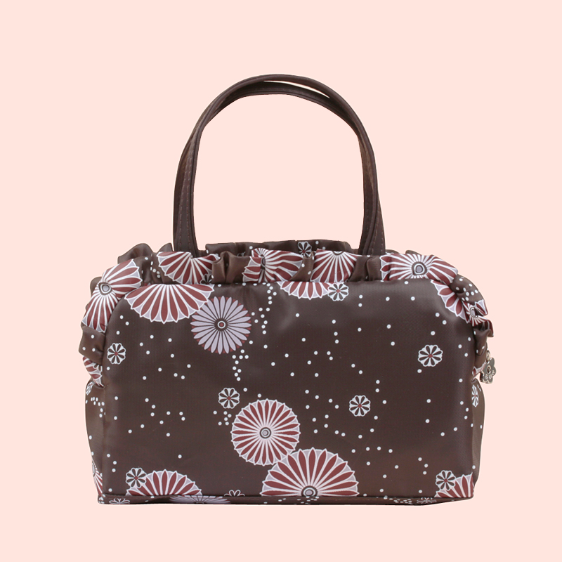OCS Counters in Japanese style fold-ladies hand bag cosmetic bag ladies hand bag flows cool casual bag