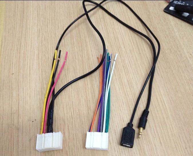 аксессуары для автозвука Юэт современных динамических интеллектуальной работает K3, К5, восемь поколения Соната ix35 KIA CD с USB + aux хвоста шнур