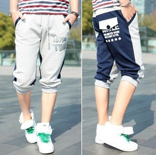 2013 new wave of men pants men's casual pants straight male models sport trousers loose Wei pants Semir Men AF