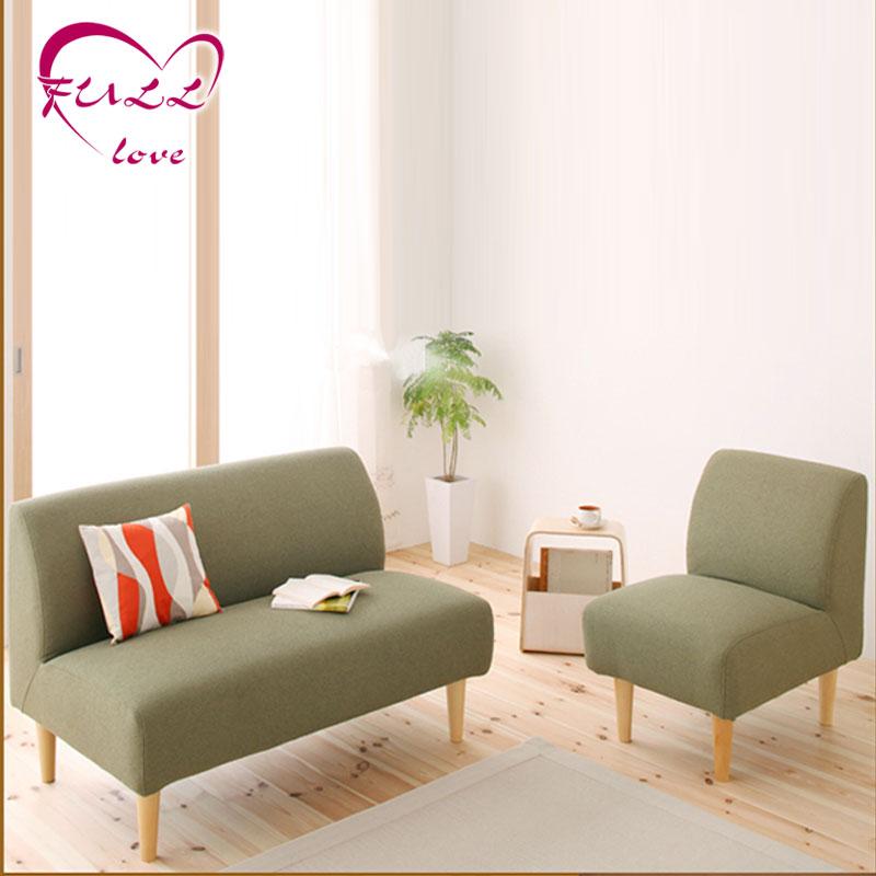 简约北欧风格可拆洗布艺沙发椅