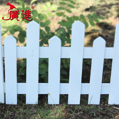 Progressive pots wooden fence fence fence wood color white Christmas pet fence garden fence garden fence