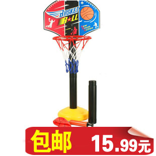 包邮 Super toy basketball children's educational toys toys baby shooting Interior adjustable lift 0.6