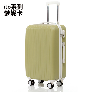 Cheap authentic ito series Veronica dream box trolley suitcase zipper suitcase caster boarding care for men and women