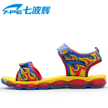 Seven wave-hui authentic 2013 fashion beach sandals summer shoes small children's shoes children's shoes
