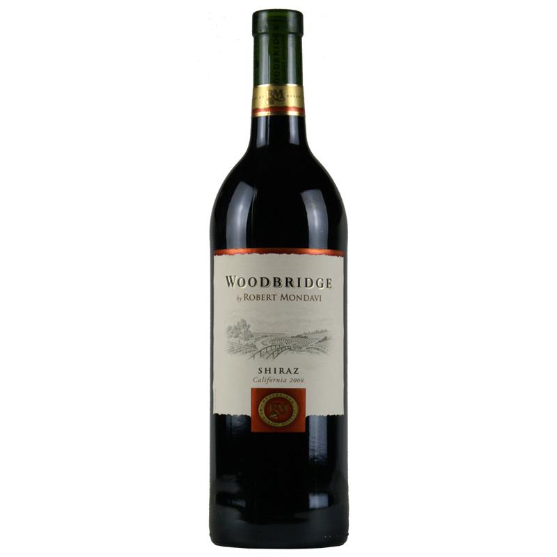 志永达红酒 美国进口红酒 蒙大菲木桥西拉 红葡萄酒2008