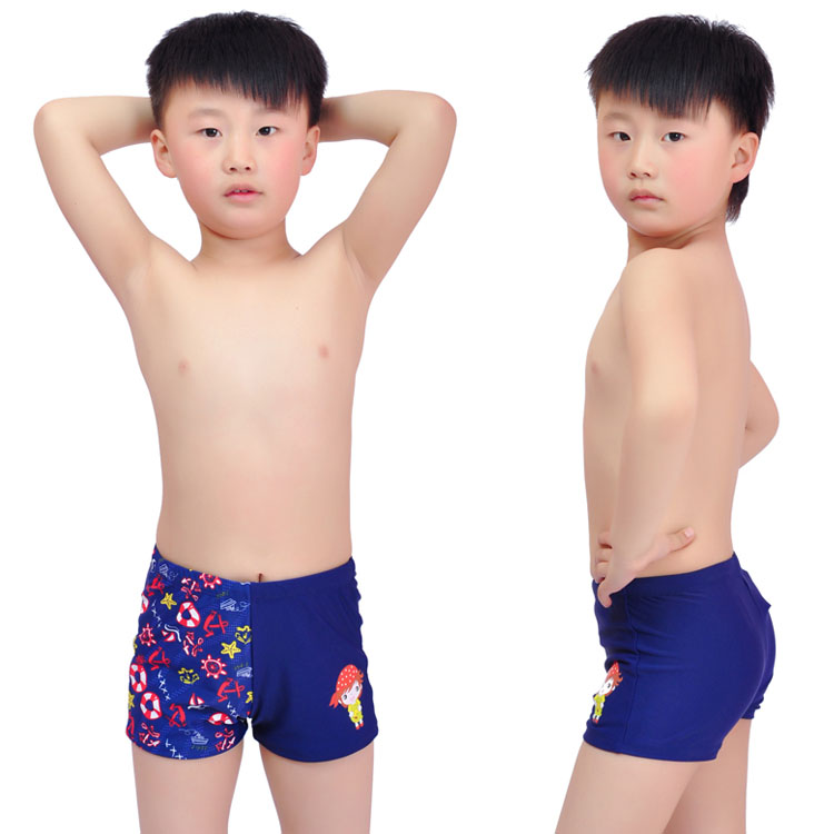 Genuine children's swimwear boys Speedo swimwear cute boy design ...