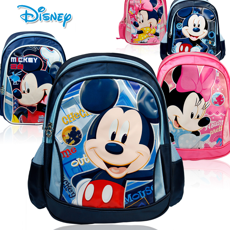 International Children ' s Day gift Disney Mickey cartoon student backpack schoolbag children of men and women