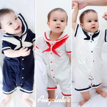 Qkyla Male and female baby baby clothes children's wear summer clothes kids wear animal cute cotton short-sleeved