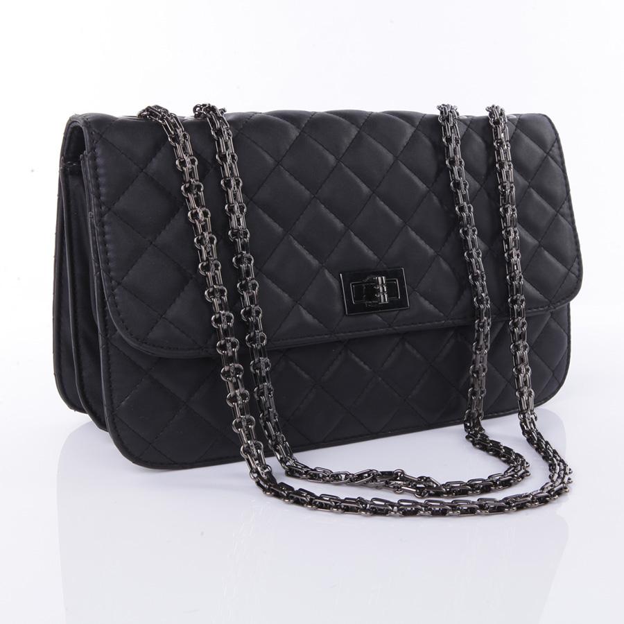 2013新款欧美菱格纹链条包 复古小香风单肩斜跨女包包