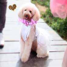 Po dependents UNPET, VIP pet / Po dependents UNPET / spring fireworks collar denim jumpsuit trousers / pants legs of dogs and cats