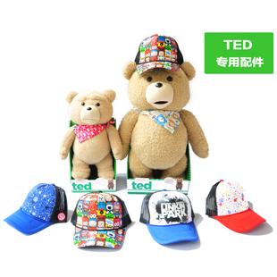 玩偶公仔布娃娃美国电影正版ted泰迪熊正品毛绒生日礼物女(衣服)