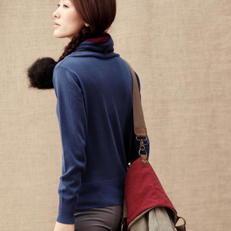 Свитер женский INMAN 824132958 2012 акриловое волокно осень 2012 длинный рукав классический рукав высокий воротник