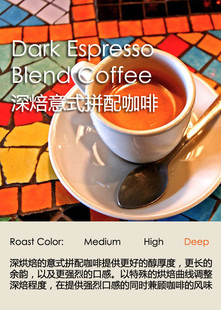 深焙意式拼配咖啡豆 Dark Espresso Blend Coffee 227g