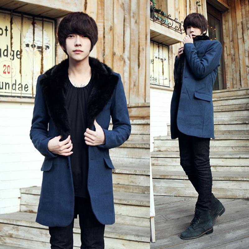 Японское Мужское Пальто