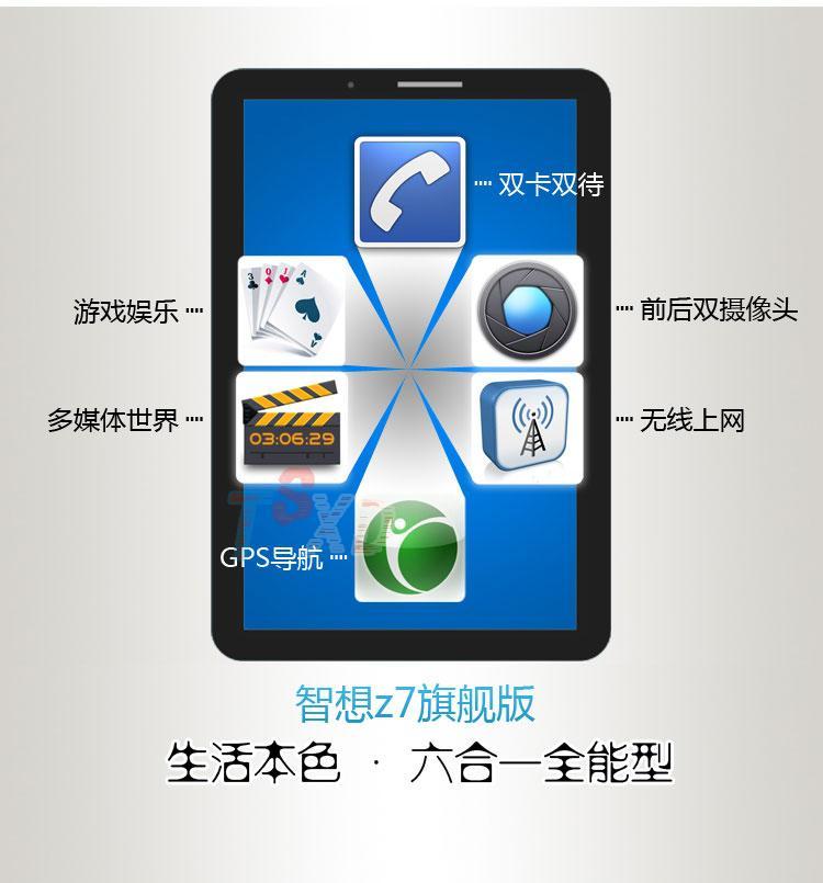 Планшет ZDX  Z7 800 GPS