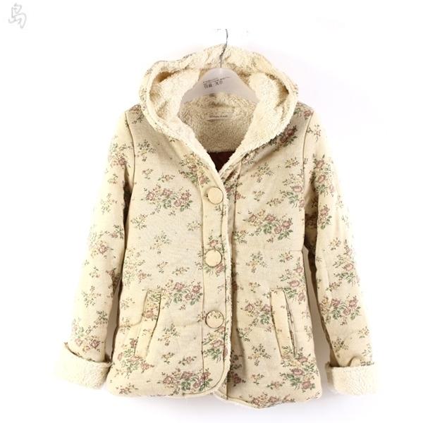 Женская утепленная куртка Foreign trade dd299 Прямой Длинный рукав Зима 2012