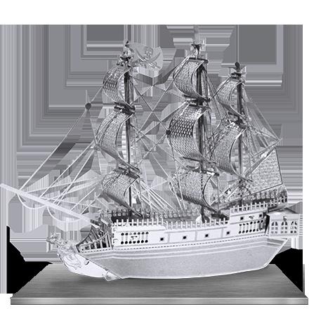 Модель военного корабля Чистого металла DIY сборка моделей из пиратов Карибского черный жемчуг, сращивание национальной плагин люкс пакет почты