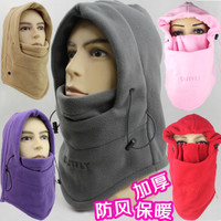 Cotton for men and women multifunctional outdoor windproof cycling hooded warm headgear