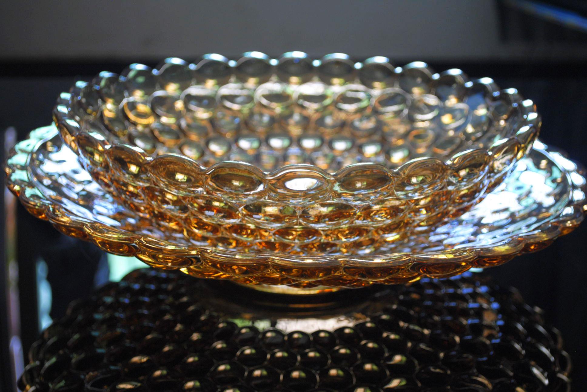 Ваза под фрукты Teefeng tf331/339hupo Европейский стиль Из стекла